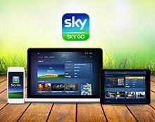 Sky Go Con Sky la tua TV viene sempre con te. Così puoi avere i tuoi programmi preferiti ovunque, su smartphone, tablet e PC.